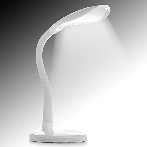 LED デスクライト ランプ 目に優しい テーブルランプ 読書用ライト タッチセンサー 電気スタンドベッドサイドライト Kingstar調光 角度調整 卓上スタンド 水槽照明用 省エネ アーム デスクライト1年保証付き