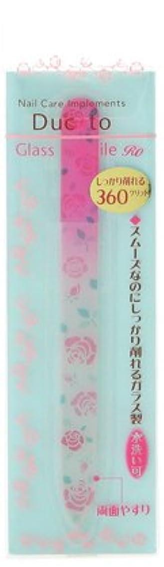 ダウンタウン王朝化粧デュカート ガラスネイルファイルRO