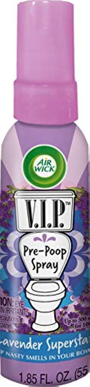 介入するひも宣言するAir Wick V.I.P.前うんこスプレー、ラベンダースーパースター、1.85オンス