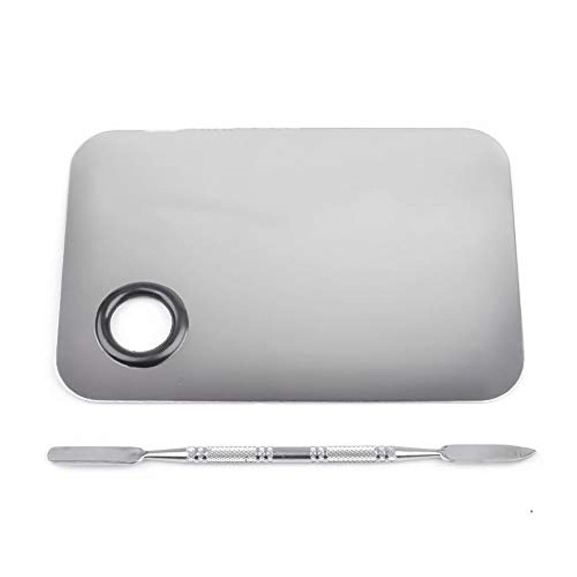 謝罪するクスコ存在1st market プレミアムステンレス鋼化粧品ネイルアートカラーメイクアップパレットへらツール