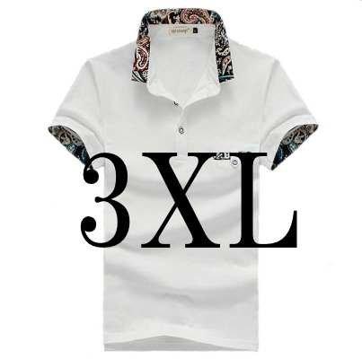 (メイク トゥ ビー) Make 2 Be メンズ カジュアル 花柄 ポロシャツ ゴルフ KB16 (34ホワイト_3XL)
