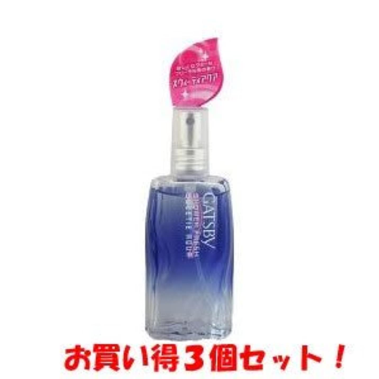 特権差無視できるギャツビー【GATSBY】シャワーフレッシュ スウィーティアクア 60ml(お買い得3個セット)