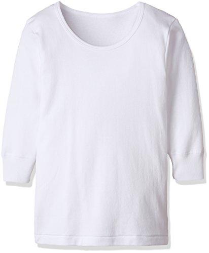 (グンゼ) GUNZE インナーシャツ キッズ あったか厚地 綿100% 長袖丸首2枚組