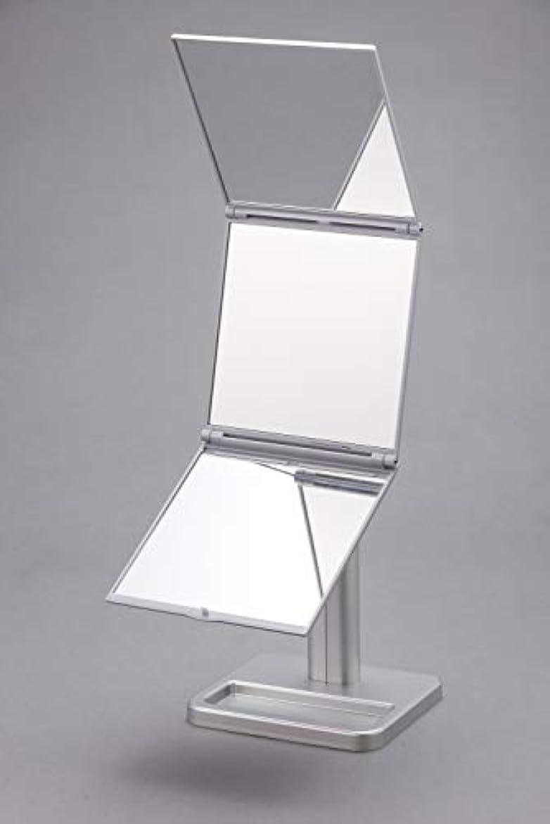 先行するセクション吸収する縦三面鏡 横三面鏡 見えないところが見える ナピュアミラー ニューフリースタイル