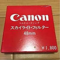 Canon 純正スカイライトフィルター48mm