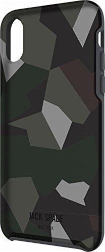 JACK SPADE(ジャックスペード)iPhone X ジャケット型ケース トランスルーセント・カモ [並行輸入品]