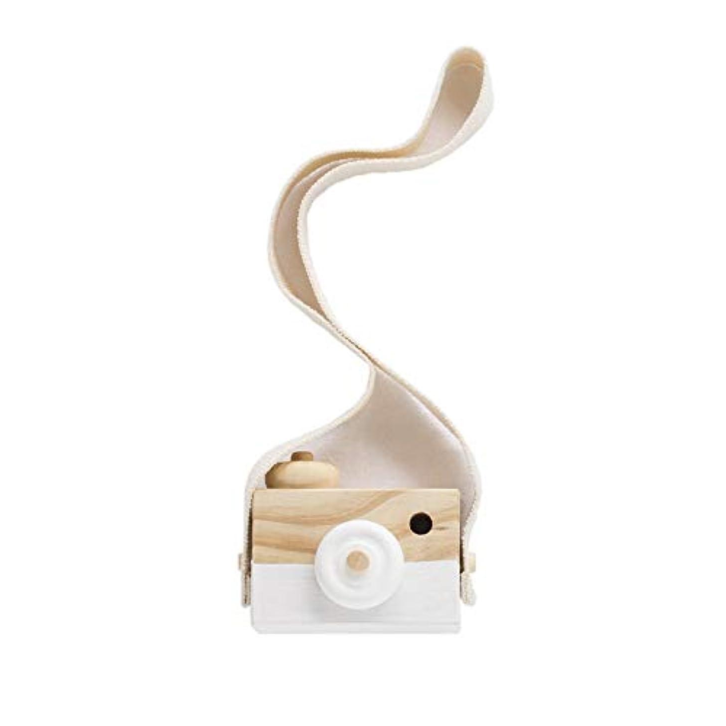 またはどちらかタイル気難しいミニかわいい木製カメラのおもちゃ安全なナチュラル玩具ベビーキッズファッション服アクセサリー玩具誕生日クリスマスホリデーギフト (グレー)