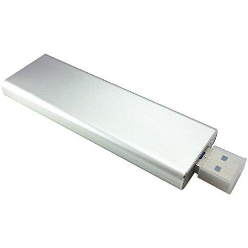 GLOTRENDS USB 3.0 5Gbps SATA M.2 SSD(Key B/B+M) SSD 対応 TRIM UASP S.M.A.R.Tサポート SATAハードドラ...