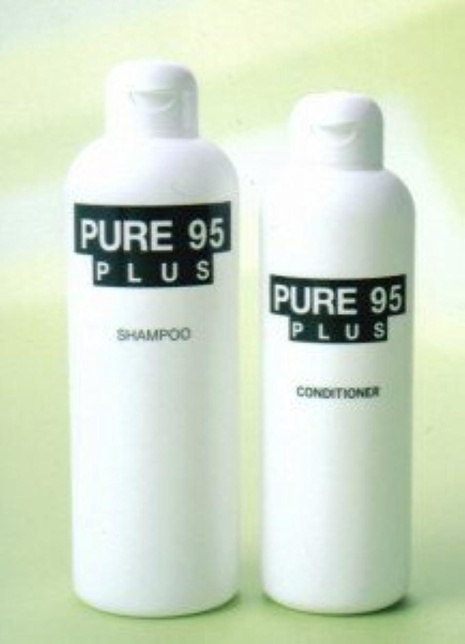 ミュート調整可能推進、動かすパーミングジャパン PURE95(ピュア95) プラスシャンプー 400ml (草原の香り)