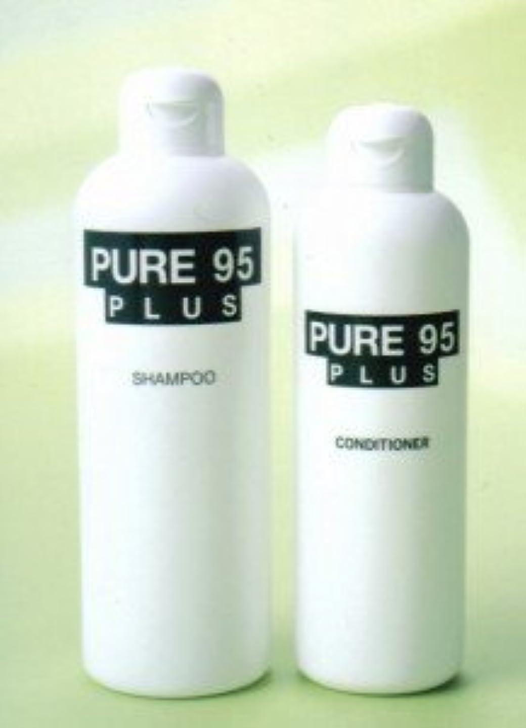 バス浪費ペフパーミングジャパン PURE95(ピュア95) プラスシャンプー 400ml (草原の香り)