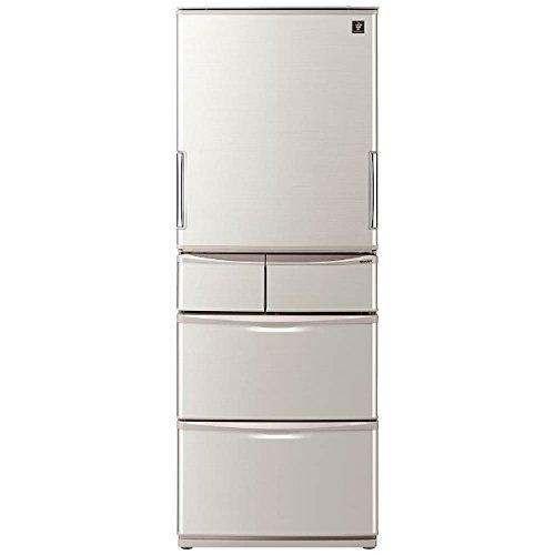 シャープ 冷蔵庫 どっちもドア両開き 430Lタイプ シャイニ...