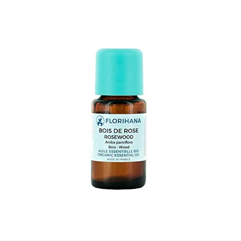 生まれ導入する好色なFlorihana オーガニック エッセンシャルオイル ローズウッド 5g(5.7ml)
