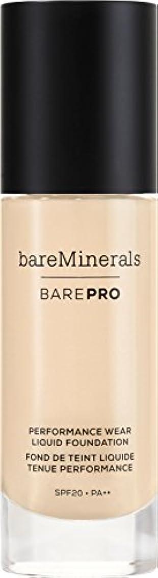 飢自動車資料ベアミネラル BarePro Performance Wear Liquid Foundation SPF20 - # 01 Fair 30ml/1oz並行輸入品