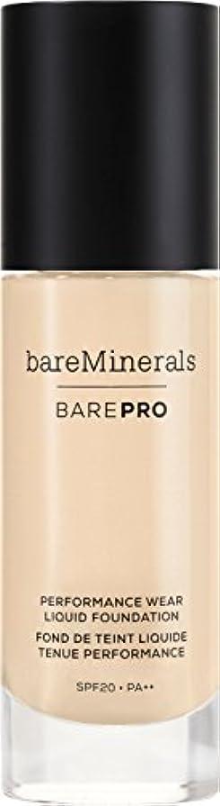 原因ジャム光景ベアミネラル BarePro Performance Wear Liquid Foundation SPF20 - # 01 Fair 30ml/1oz並行輸入品