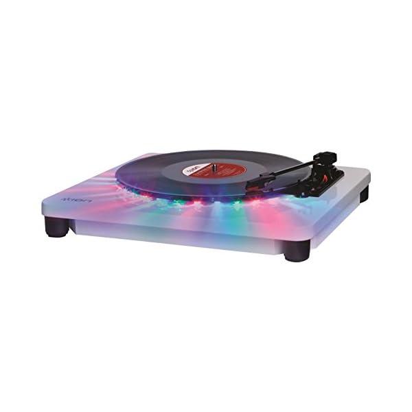 ION Audio LEDライト付きレコードプ...の紹介画像4