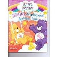 Care Bearsジャンボカラーリング&アクティビティブック( 64pgs )