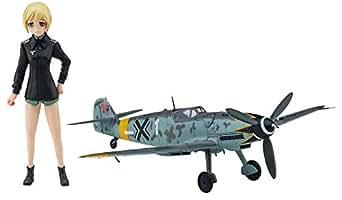 ハセガワ ストライクウィッチーズ エーリカ・ハルトマン w/メッサーシュミット Bf109G-6 1/20スケール レジンキット SP409