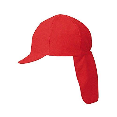 FOOTMARK(フットマーク) 学校体育 体操帽 スクラムプラス フラップ付き 101229 レッド(05) フリー