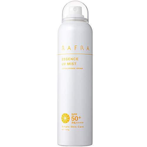 ラフラ エッセンス UVミスト 100g SPF50+ PA++++ 日焼け止めスプレー