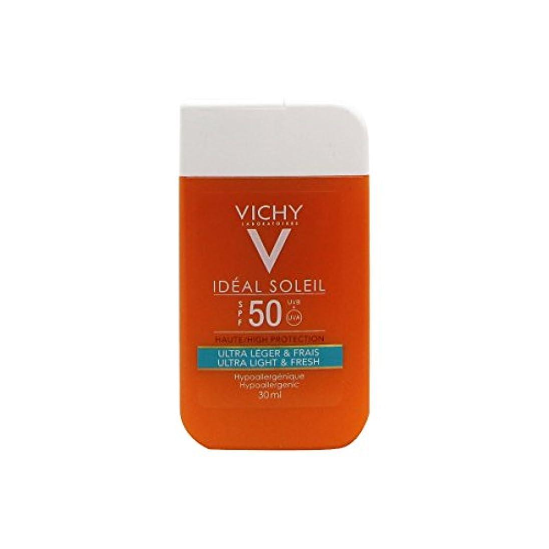 航空便幅罪人Vichy Ideal Soleil Mini Pocket Size Ultra Fresh And Light Spf50 30ml [並行輸入品]