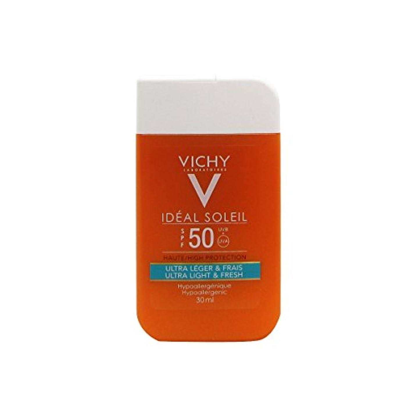規制バウンド神Vichy Ideal Soleil Mini Pocket Size Ultra Fresh And Light Spf50 30ml [並行輸入品]