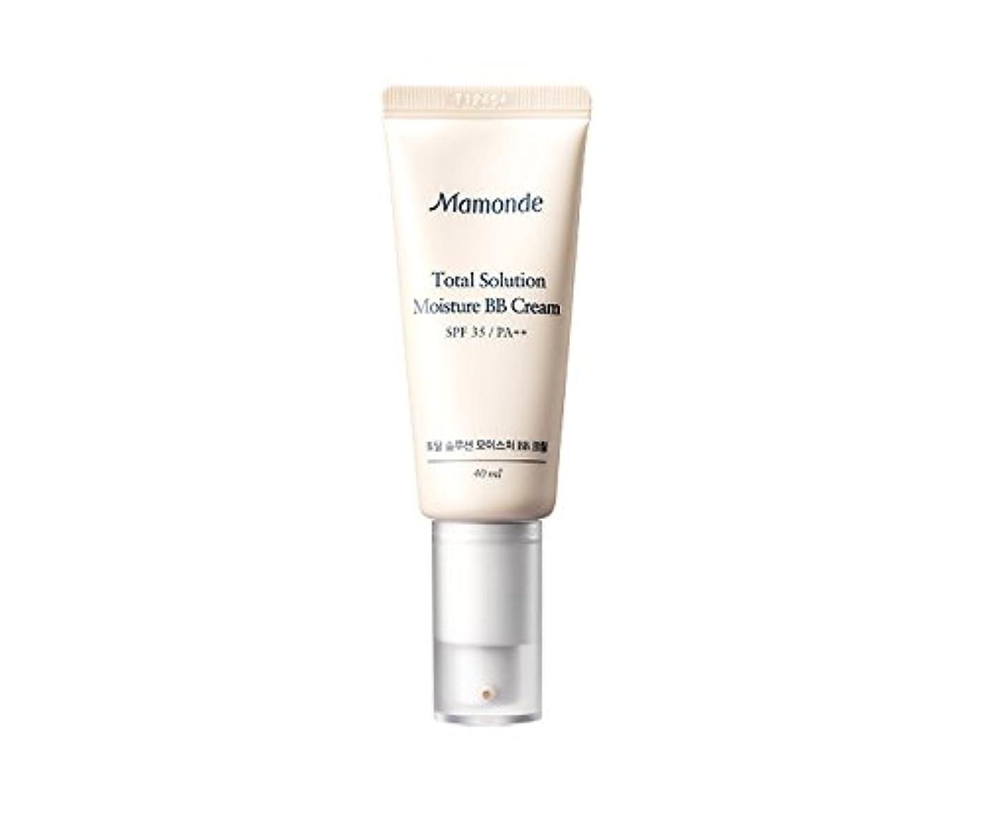 冗長情熱的甘くするMamonde Total Solution Moisture BB cream 40ml/マモンド トータル ソリューション モイスチャー BBクリーム 40ml (#2 Natural Beige) [並行輸入品]