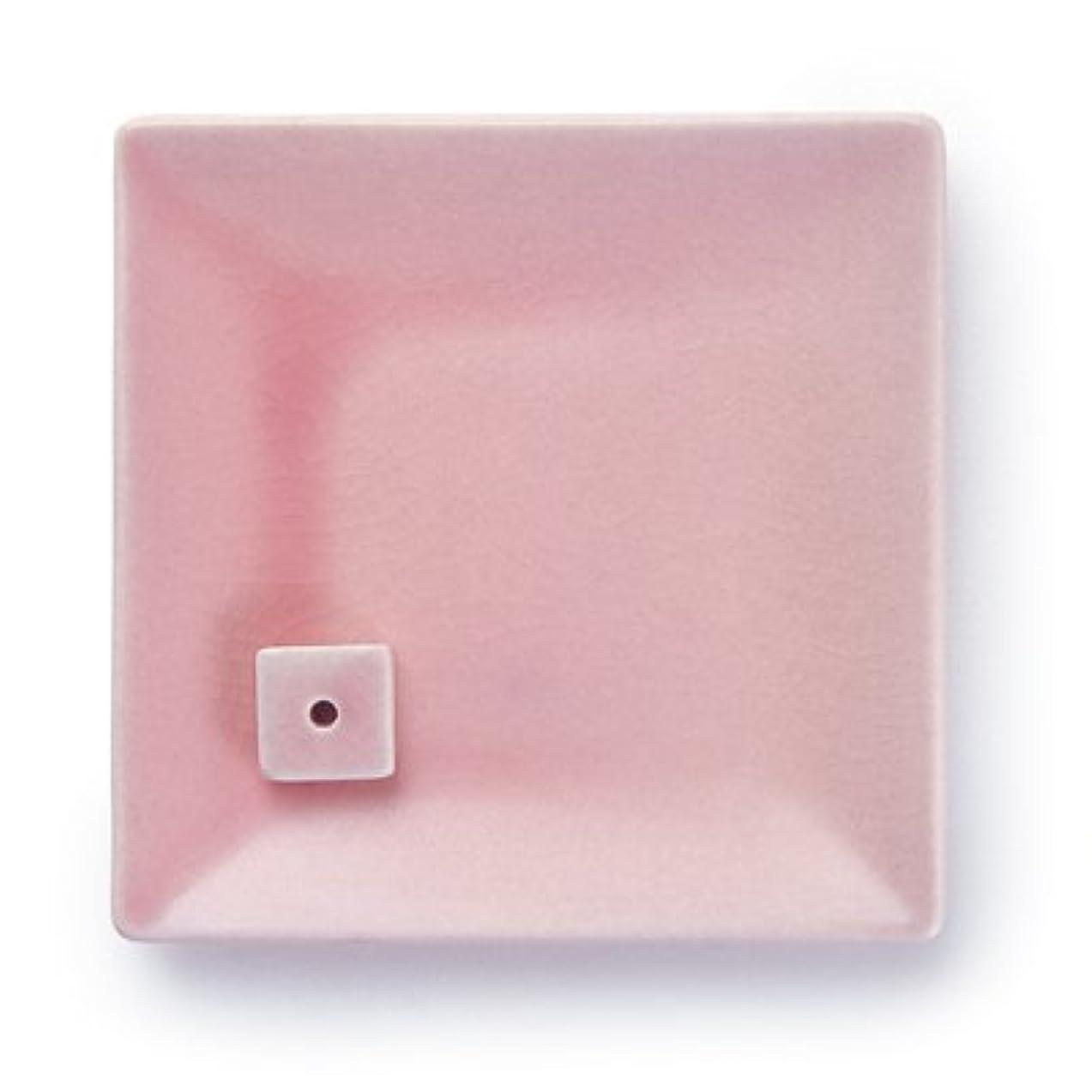 大工一緒に対処NATURE&ART 陶器香皿pink
