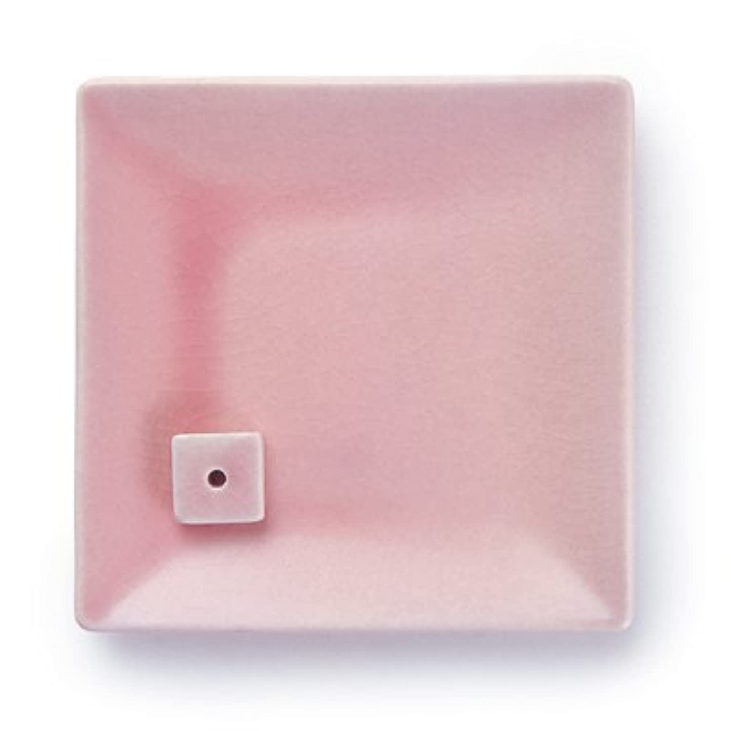 NATURE&ART 陶器香皿pink
