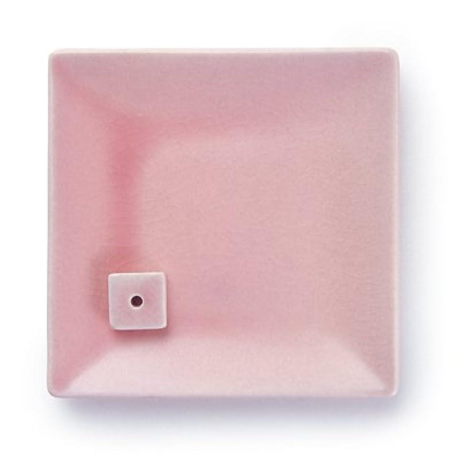 先入観イサカ長くするNATURE&ART 陶器香皿pink