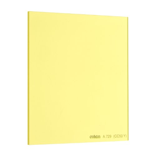 Cokin 角型レンズフィルター A729 YELLOW CC FILTER (CC50Y) 67×72mm 色補正用 167290