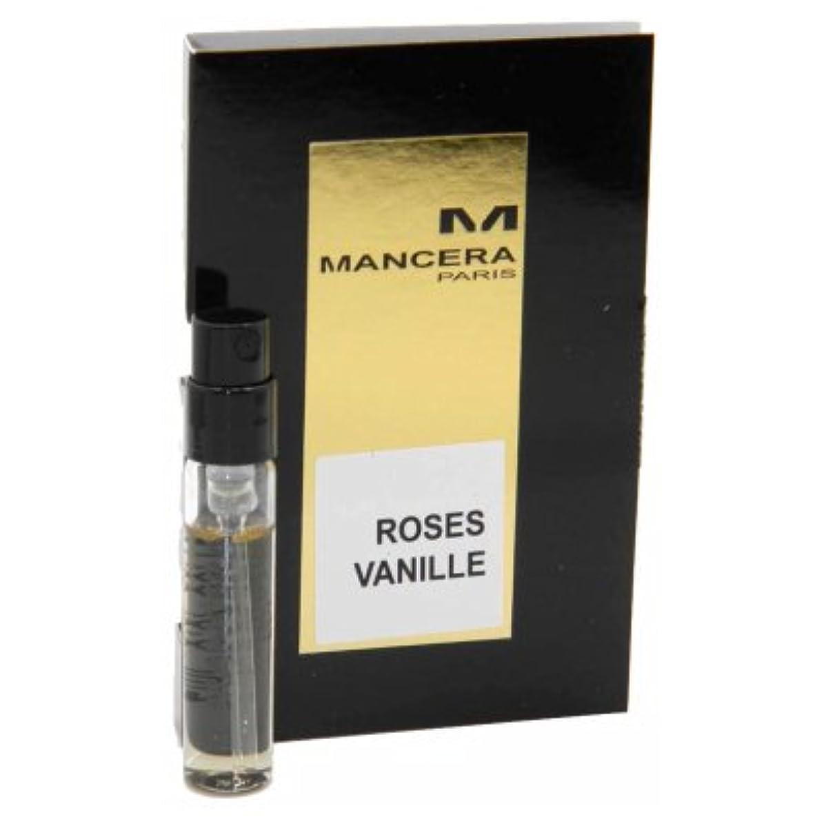 ジョグ甘くする体操選手Mancera Roses Vanille EDP Vial Sample 2ml(マンセラ ローゼズ ヴァニーユ オードパルファン 2ml)[海外直送品] [並行輸入品]