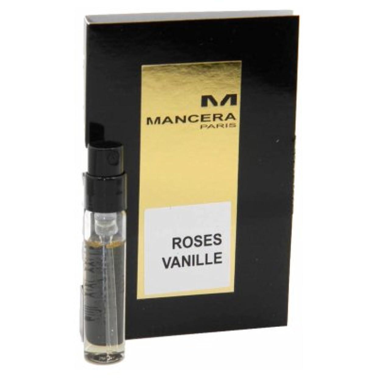 母音別の権限を与えるMancera Roses Vanille EDP Vial Sample 2ml(マンセラ ローゼズ ヴァニーユ オードパルファン 2ml)[海外直送品] [並行輸入品]