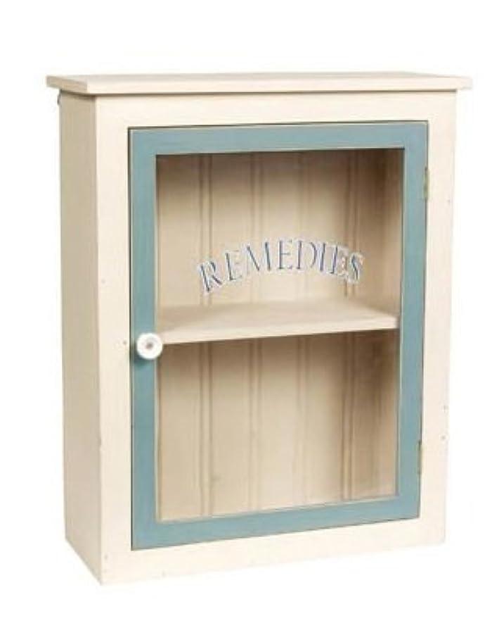 浴傾斜見るWhite Remedies Wood Medicine Cabinet by Ohio Wholesale