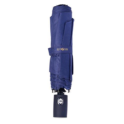 折り畳み傘 自動開閉式傘 大きい 折りたたみ傘 EFOSHM 晴雨兼用 8本骨 耐風撥水 収納ケース付き 化粧箱入り...