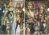 一番くじ 聖闘士星矢 LEGEND of SANCTUARY 2等 A4クリアファイルセット(2枚組) サガ&アイオロス/アイオリア&シャカ&ミロ