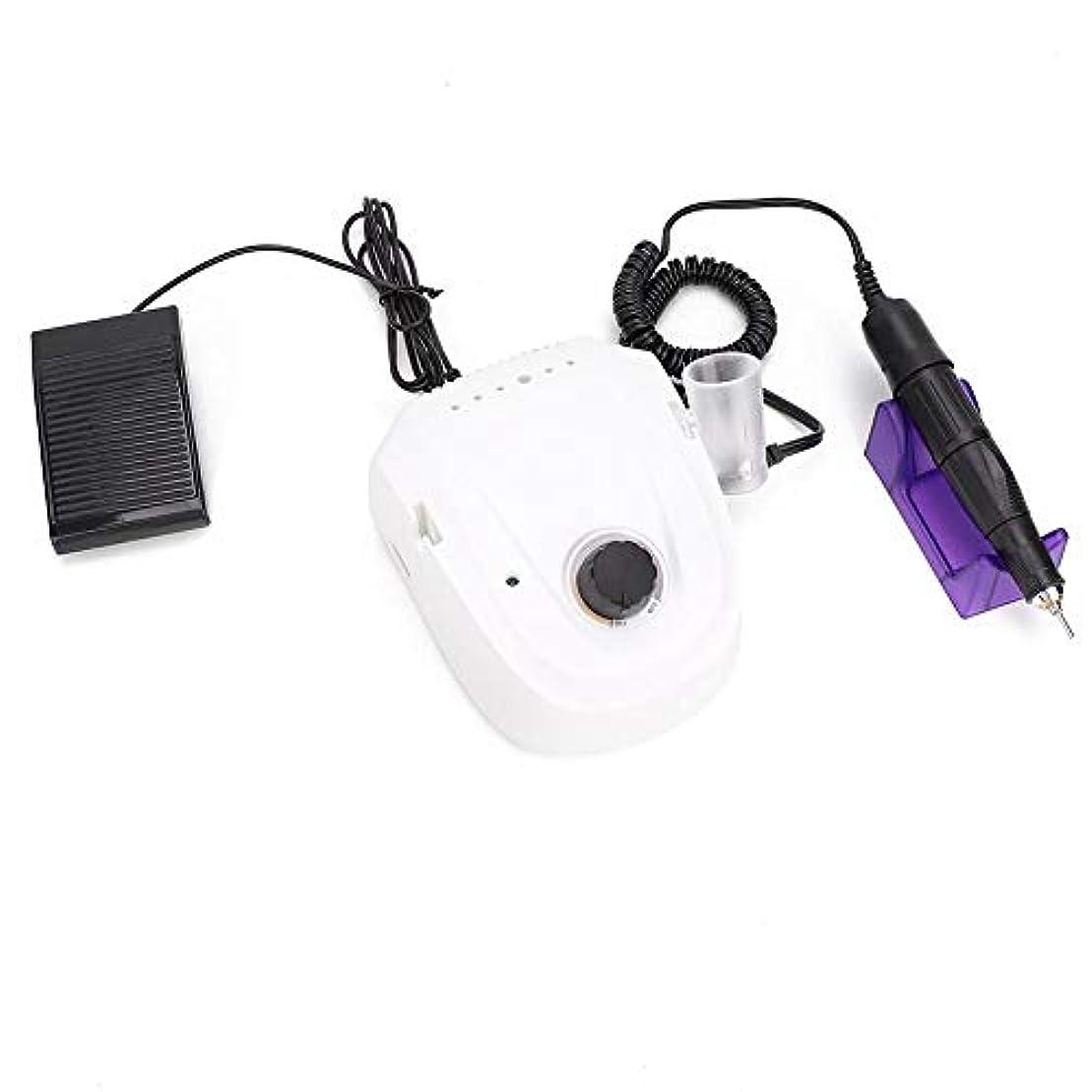 バックグラウンド災難非アクティブプロ45000RPM電動ネイルドリル機(USプラグ)