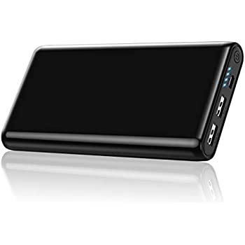 艶出し 25800mah モバイルバッテリー 大容量 残量表示 急速充電対応 2USB出力ポート スマホ充電器 Android/スマホ/タブレット対応 PSE認証済