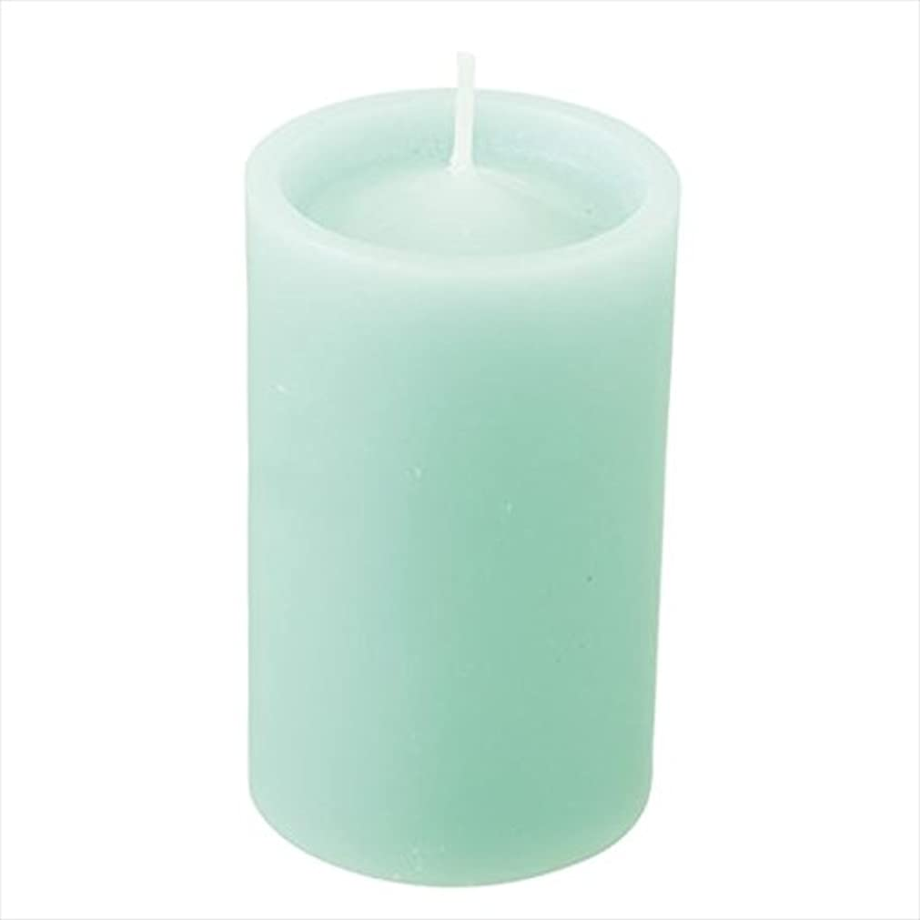 原油治世米国カメヤマキャンドル(kameyama candle) ロイヤルラウンド60 「 ライトグリーン 」