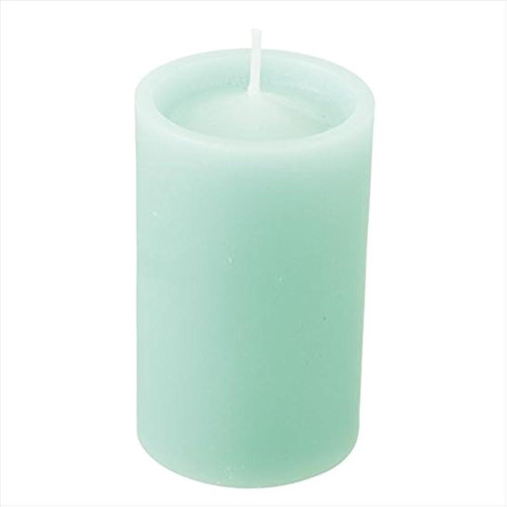 シンジケートチチカカ湖ライフルカメヤマキャンドル(kameyama candle) ロイヤルラウンド60 「 ライトグリーン 」