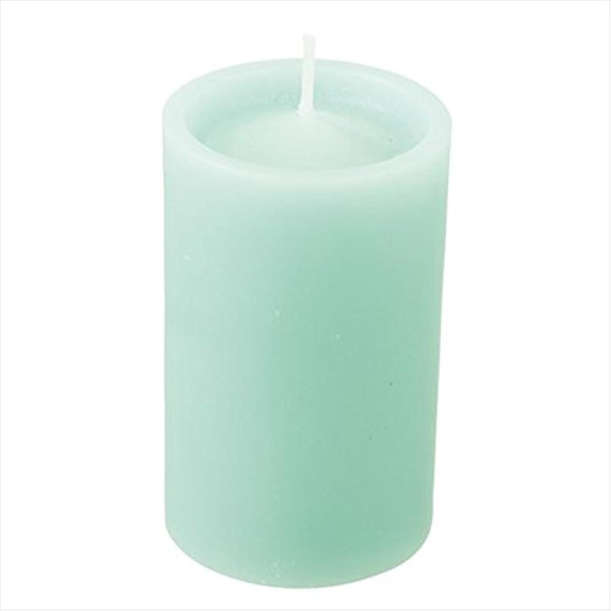 拘束するタイムリーな砂利カメヤマキャンドル(kameyama candle) ロイヤルラウンド60 「 ライトグリーン 」