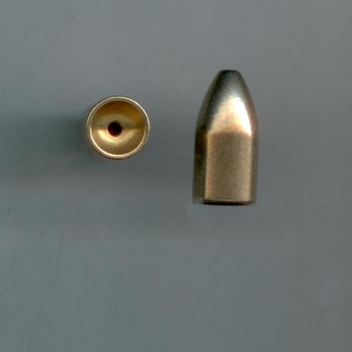 すごい期待傾いた1 / 4oz真鍮Bullet Sinkers , 10 per pack by S & J 'sタックルボックス