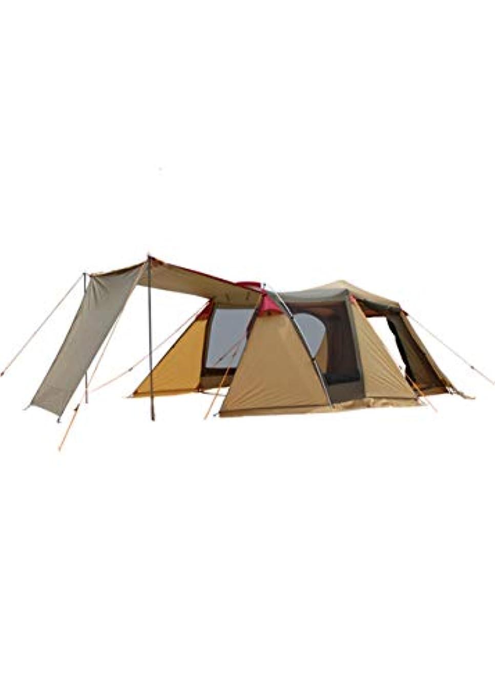 運命的などちらか割れ目屋外のテントキャンプ3-4人のダブルデッカーの自動家族旅行のキャンプ多人数ビーチテント
