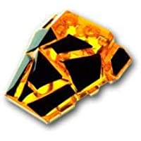 レゴブロック ばら売りパーツ ウェッジ 4 x 4 - ポリゴン ブラックパターン:[Tr,Orange / トランスオレンジ] [並行輸入品]
