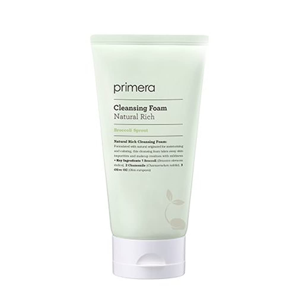 暴露する母音骨折【Primera】Natural Rich Cleansing Foam - 150ml (韓国直送品) (SHOPPINGINSTAGRAM)