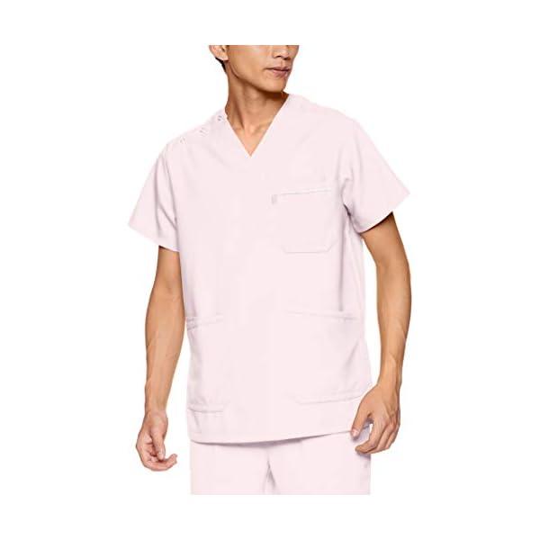 [ミズノ] スクラブ 医療 介護 白衣 男女兼用...の商品画像