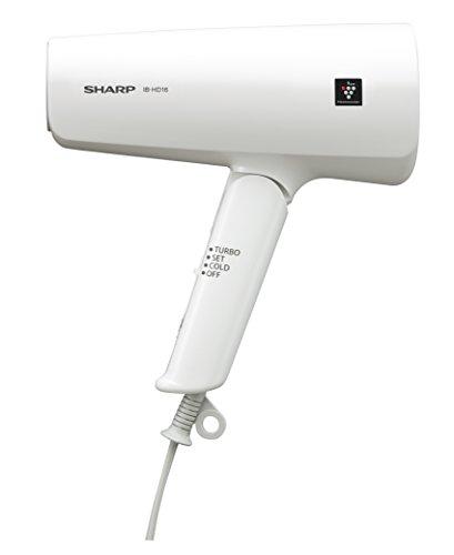 シャープ ヘアドライヤー プラズマクラスター搭載 海外対応 ホワイト IB-HD16W