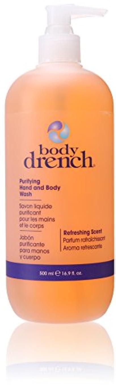 どうやら先生化粧Body Drench ハンド&ボディウォッシュ、浄化、16.9オンス 16.9オンス