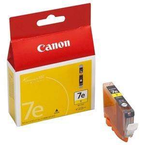 (まとめ) キヤノン Canon インクタンク BCI-7eY イエロー 0367B001 1個 【×4セット】 [簡易パッケージ品]