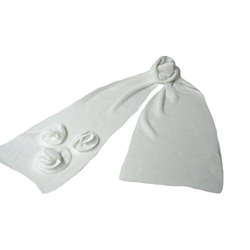 (グッチ)GUCCI  ストール スカーフ 280742 ベビー キッズ ローズモチーフ 白 9100 ホワイト [並行輸入品]