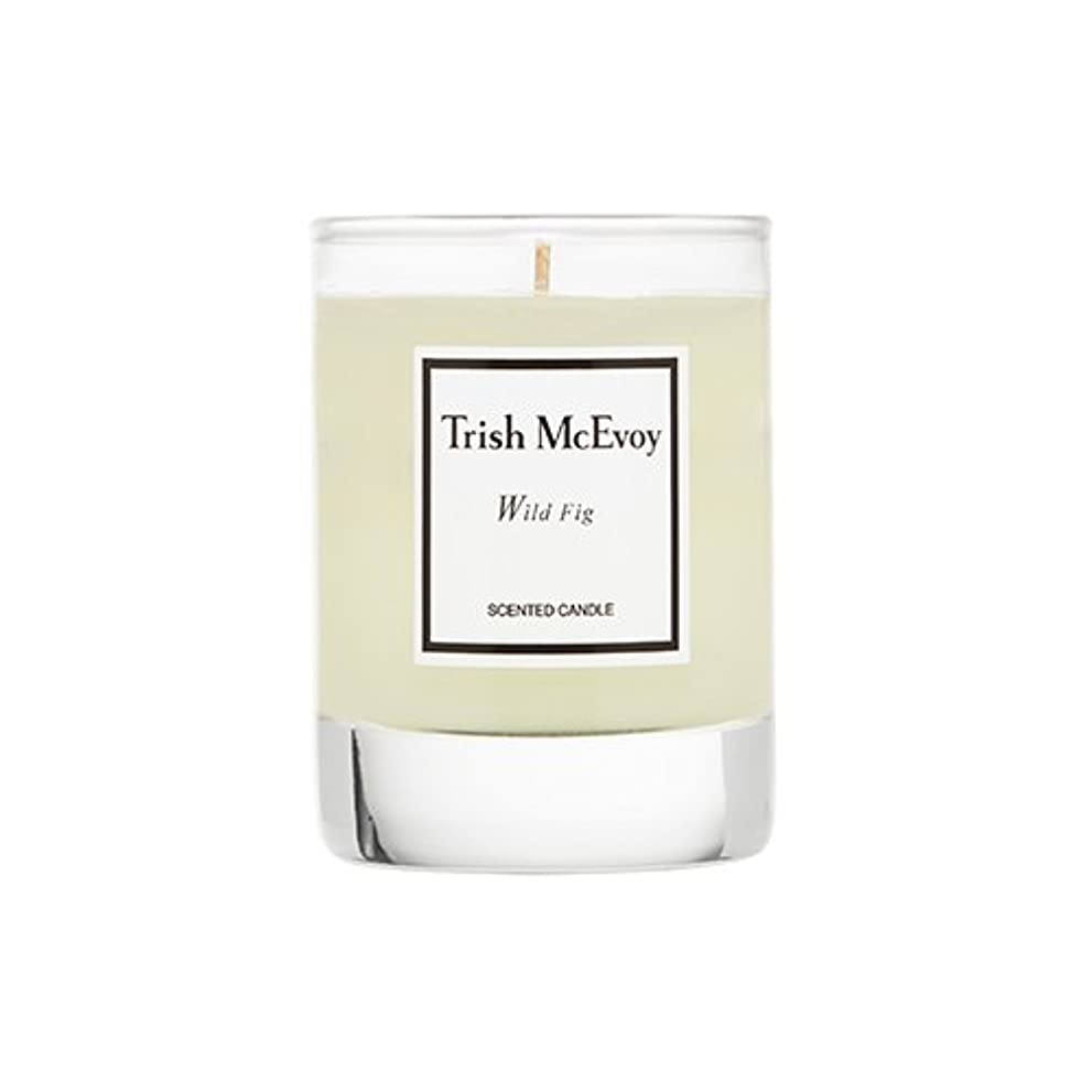 圧倒する突然の感謝しているTrish McEvoy Wild Fig Scented Candle Votive 2oz